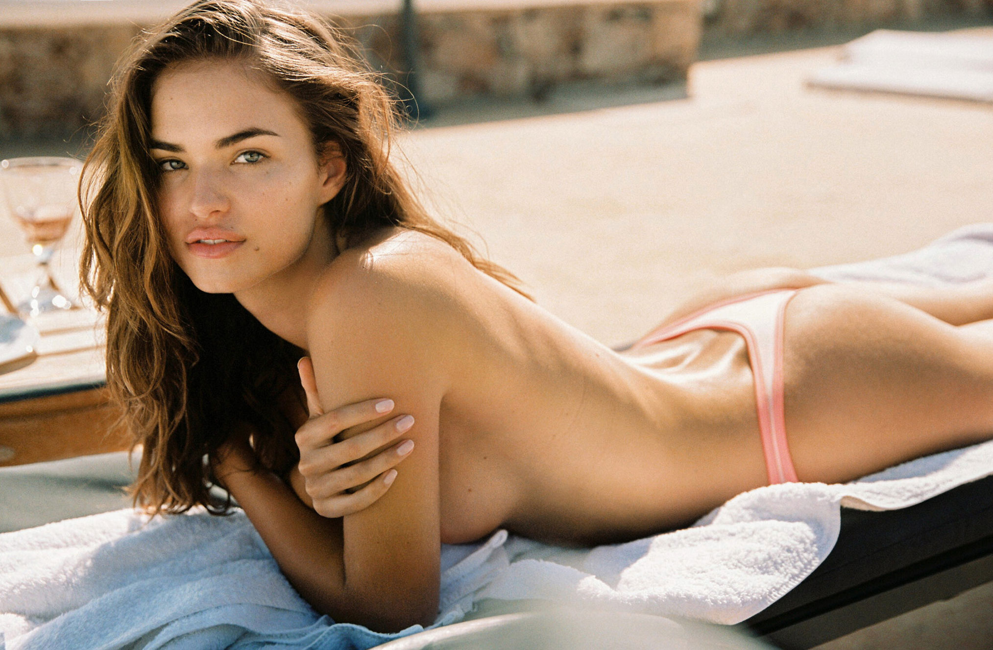 Lotta Kaijarvi and Robin Holzken by Cameron Hammond / фото 07