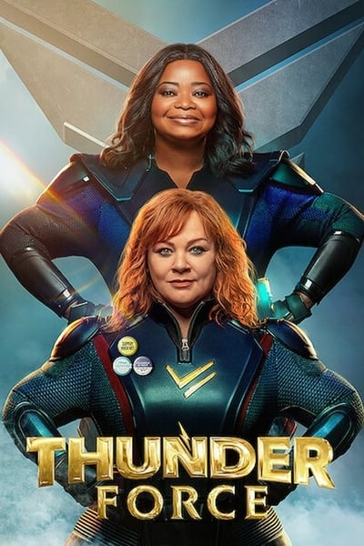 Thunder Force 2021 1080p WEB-DL x265 HEVC-HDETG