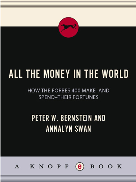 All the Money in the World Peter W Bernstein