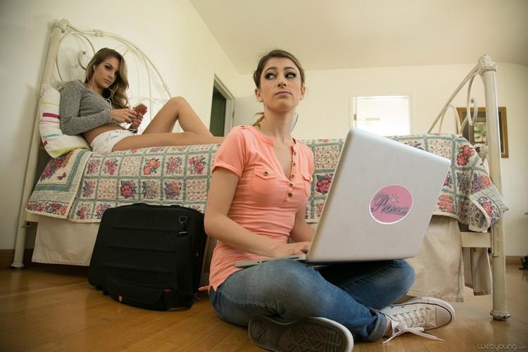 Kimmy Granger, Kristen Scott ~ Bunking Up: Part Two ~ WebYoung/GirlsWay ~ FullHD 1080p