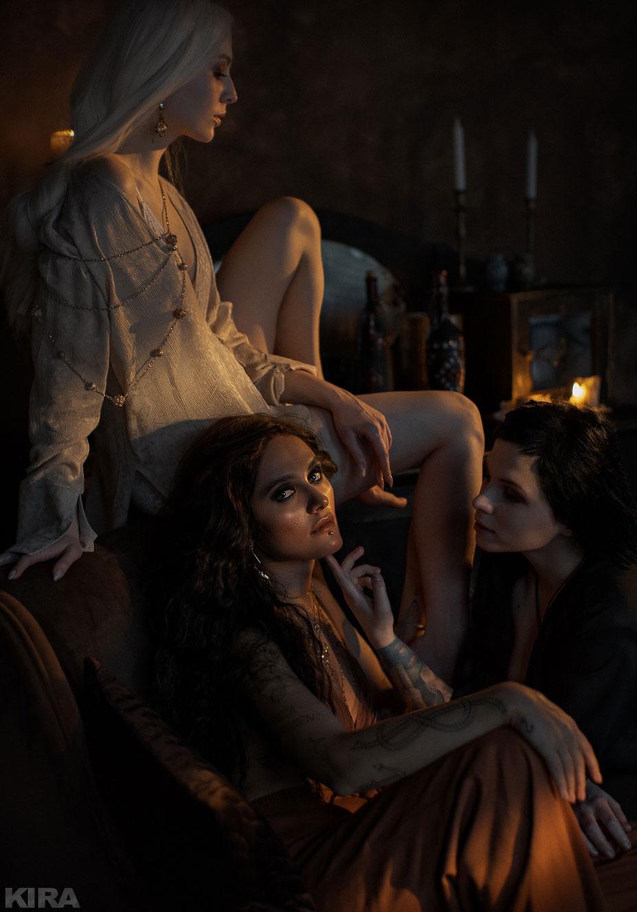 Валерия Лавхаева, Екатерина Плотникова и Асаги Нанами (Nero) / фото 05