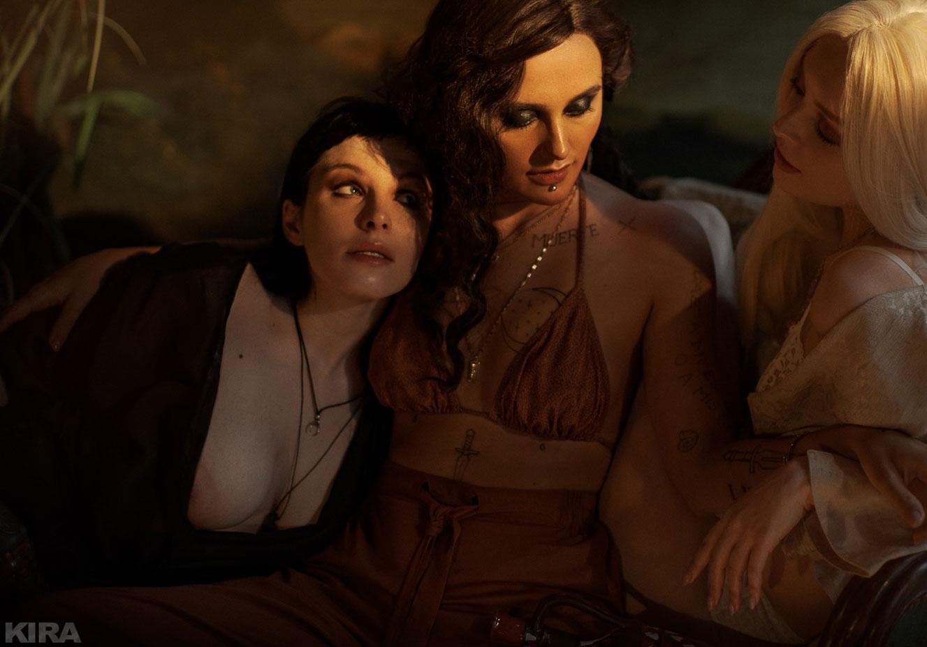 Валерия Лавхаева, Екатерина Плотникова и Асаги Нанами (Nero) / фото 06