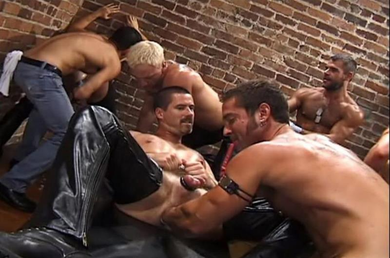 Up Your Alley 1, Scene #04 with Aaron Tanner, Bryce Pierce, Jeff Allen, Michael Soldier, Rik Jammer, Scott Samson, Sky Donovan 480p 190.99 Mb