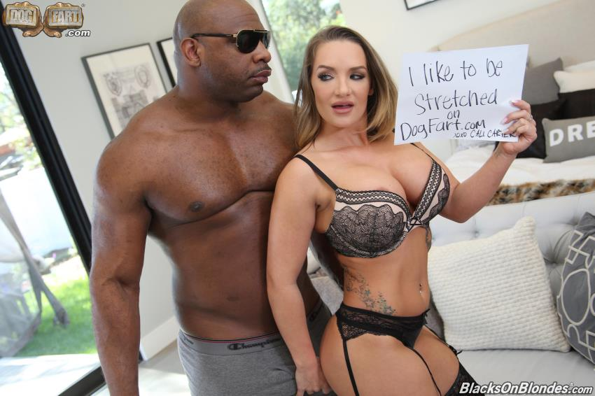 Cali Carter, Davin King ~ Blacks On Blondes: Cali Carter ~ BlacksOnBlondes.com/Dogfartnetwork.com ~ HD 720p