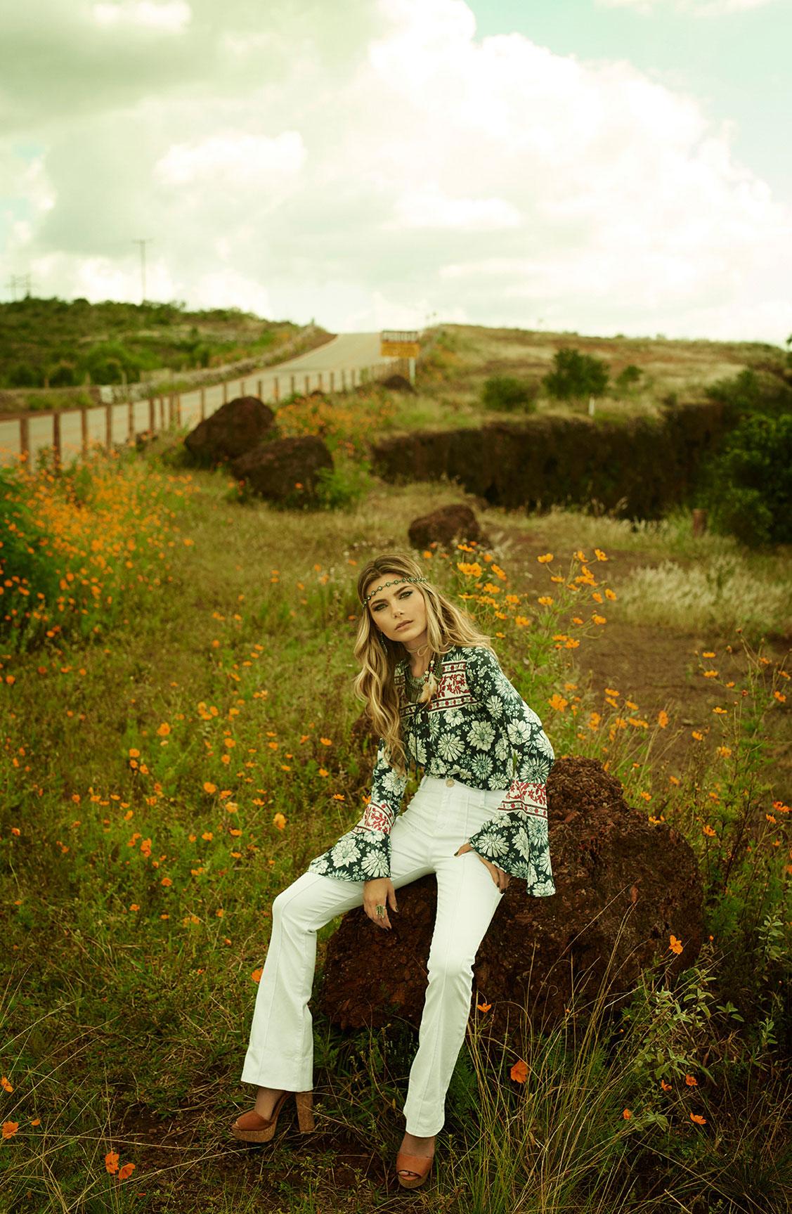 Карина Флорес в рекламной кампании модного бренда LOZZ / фото 06