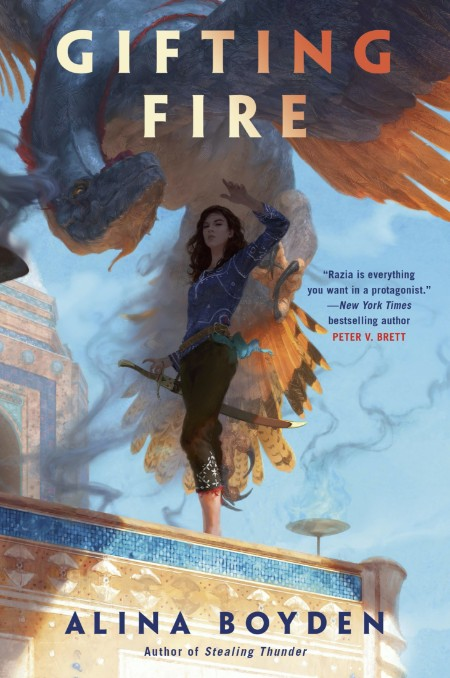 Gifting Fire by Alina Boyden  [ENG]