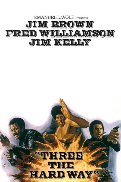 Three The Hard Way 1974 1080p WEBRip x264-RARBG [ENG]