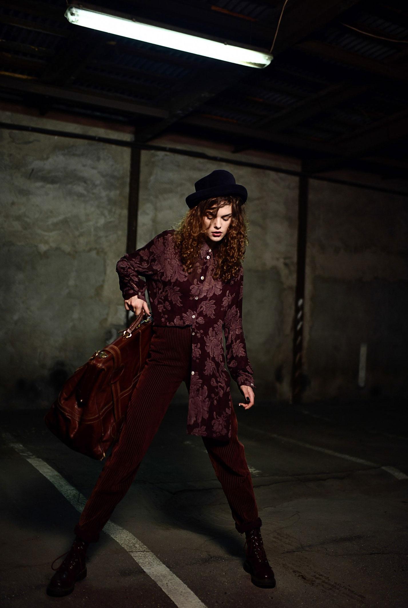 Модный показ в исполнении Юлии Кондрашовой / фото 02