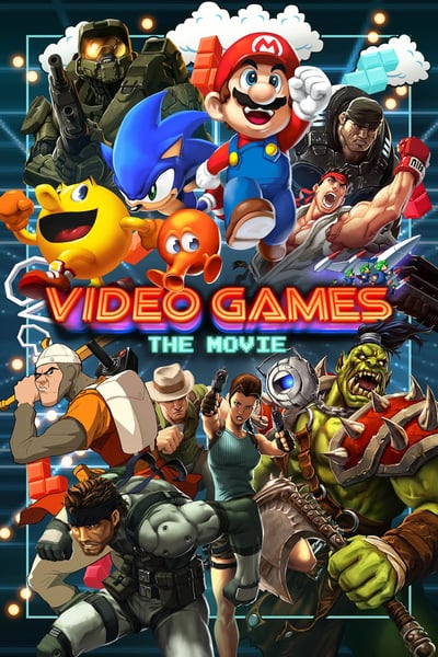 Video Games The Movie 2014 720p WebRip X264 AC3 Will1869 [ENG]