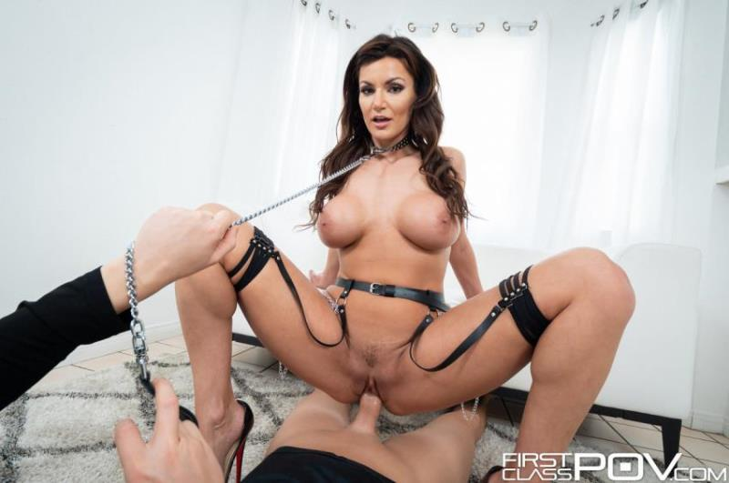 FirstClassPOV.com - Becky Bandini - Becky Bandini Goes Wild Sucking Her Neighbors Dick (1080p/FullHD)