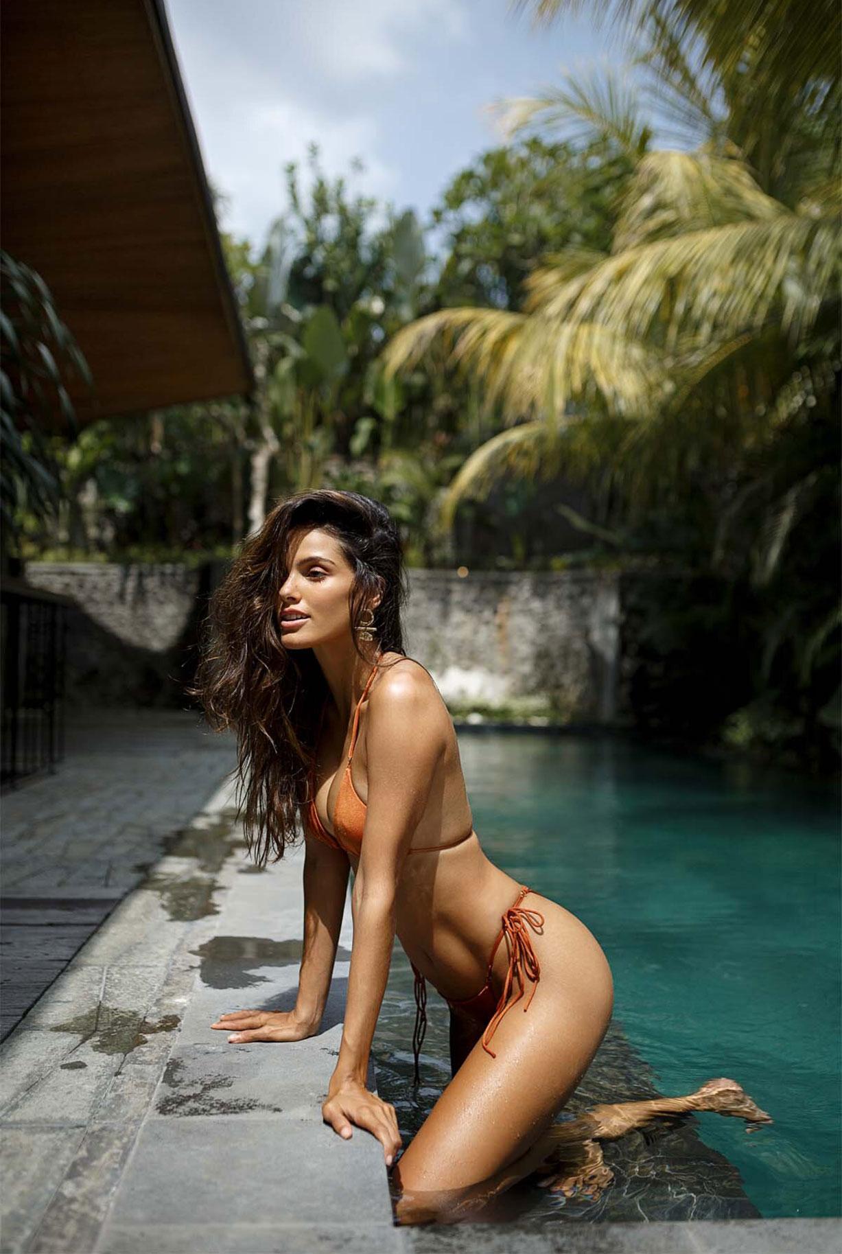 Найара Лима отдыхает у бассейна на Бали / фото 05