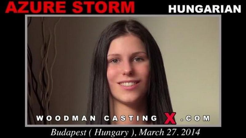 AZURE STORM - Hardcore [WoodmanCastingX/PierreWoodman] HD 720p