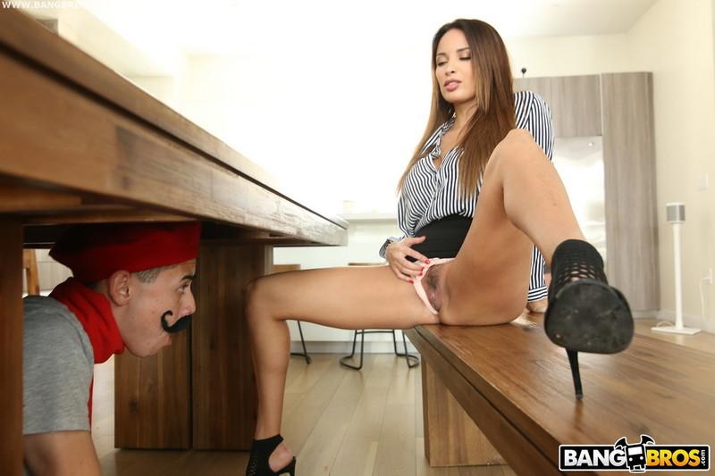 Anissa Kate ~ Juan Fucks the Hot French Teacher ~ BangBrosClips/BangBros ~ FullHD 1080p