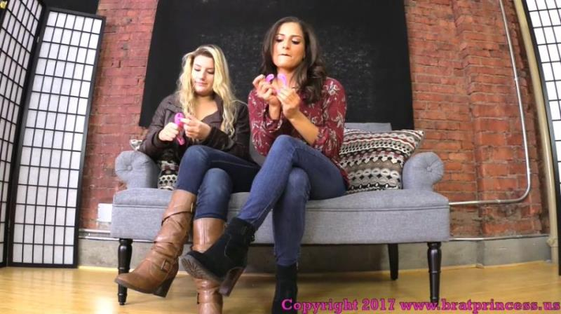 ChiChi, Chloe ~ You Need To Be Locked In Chastity Before You Worship Our Feet ~ BratPrincess ~ FullHD 1080p