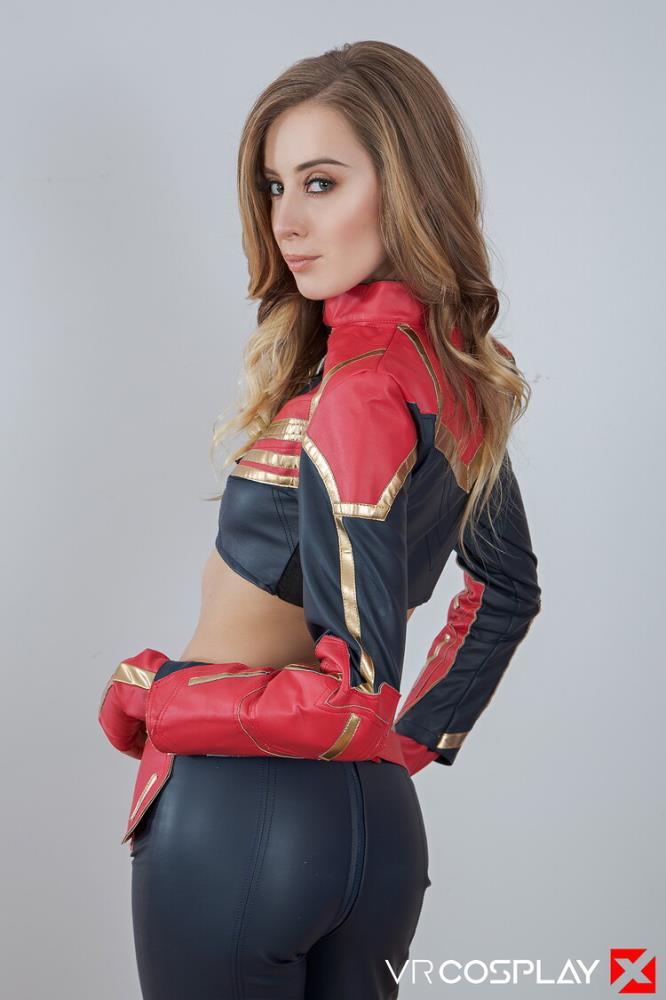 Haley Reed ~ Captain Marvel A XXX Parody ~ Vrcosplayx ~ UltraHD 2K 1440p