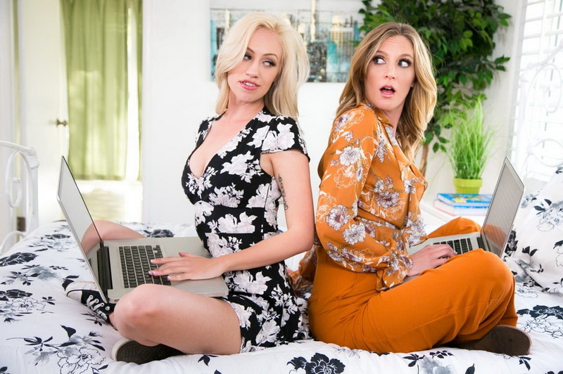Lyra Law, Mona Wales ~ Browser History ~ MommysGirl/GirlsWay ~ FullHD 1080p