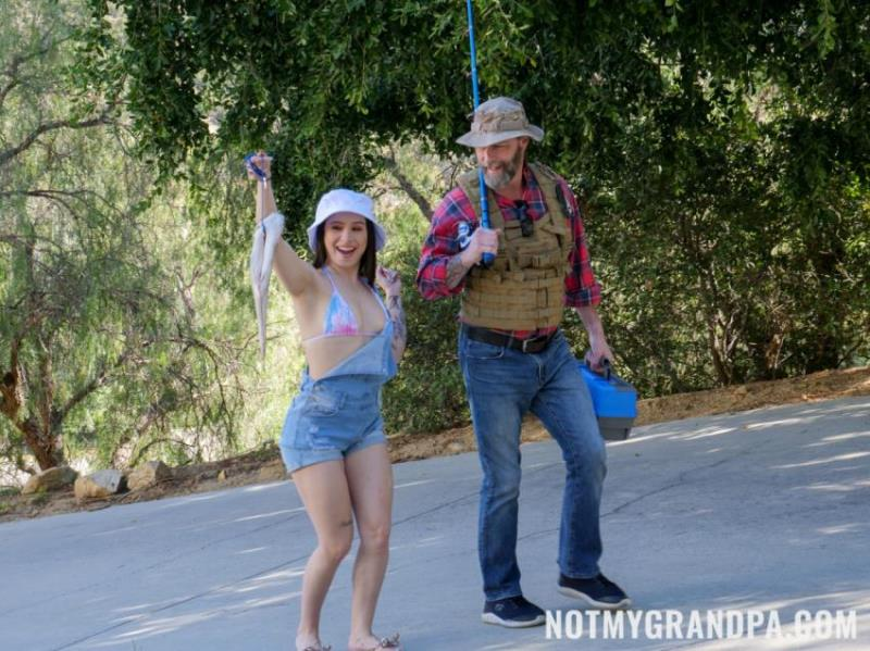 NotMyGrandpa.com/TeamSkeet.com - Mia Moore - Stepgrandpa Teaches Me To Fish [HD 720p]