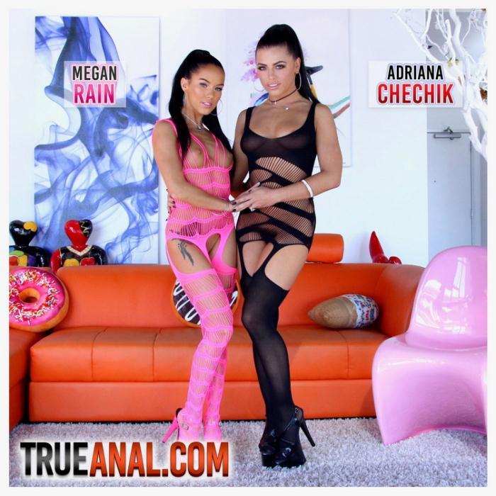 Adriana Chechik, Megan Rain - Anal And Squirting Fun With Adriana And Megan (FullHD 1080p) - TrueAnal - [2021]