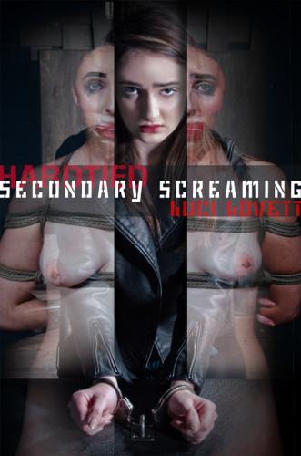 Luci Lovett ~ Secondary Screaming ~ HardTied ~ HD 720p