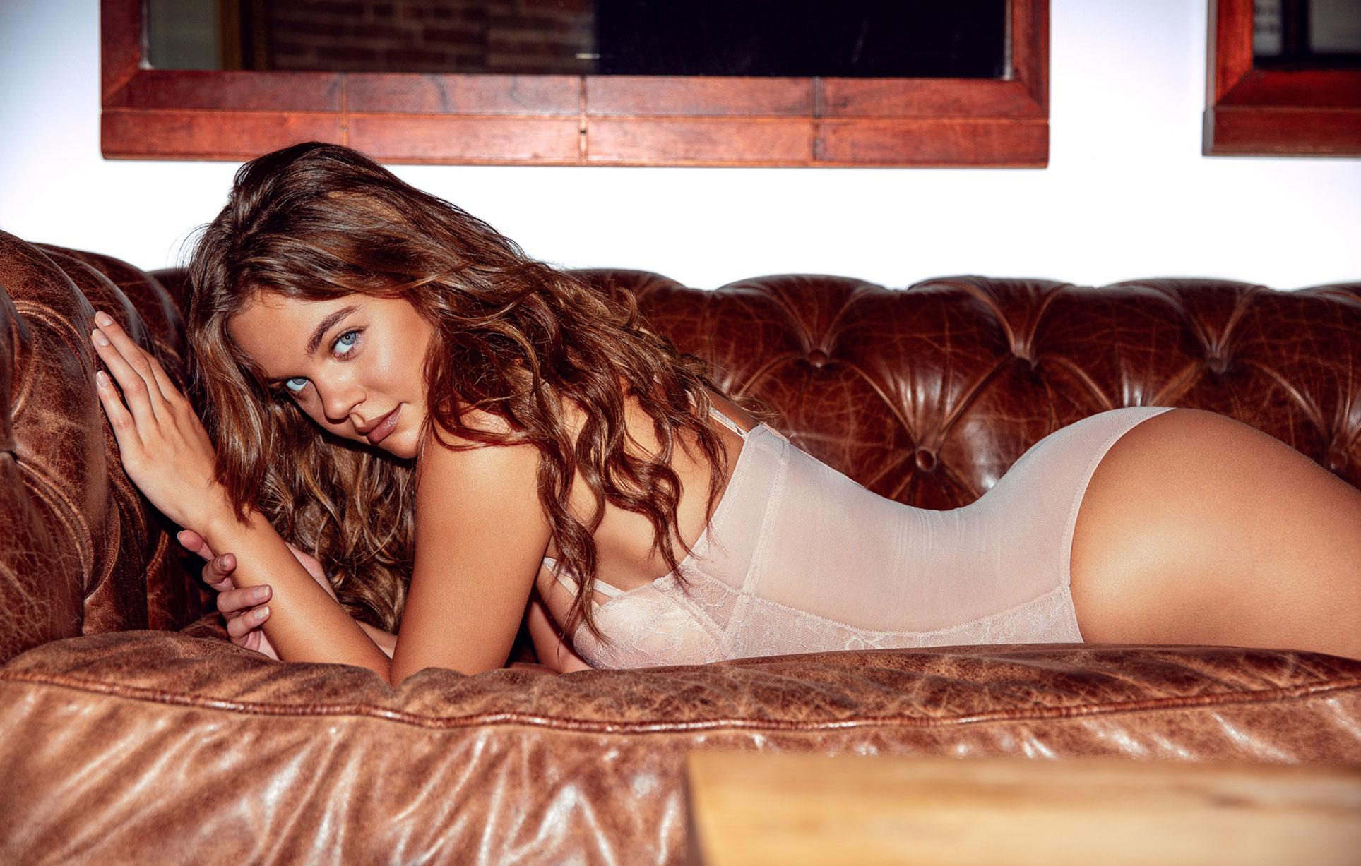Лена Скай в нижнем белье в журнале Maxim Mexico / фото 12