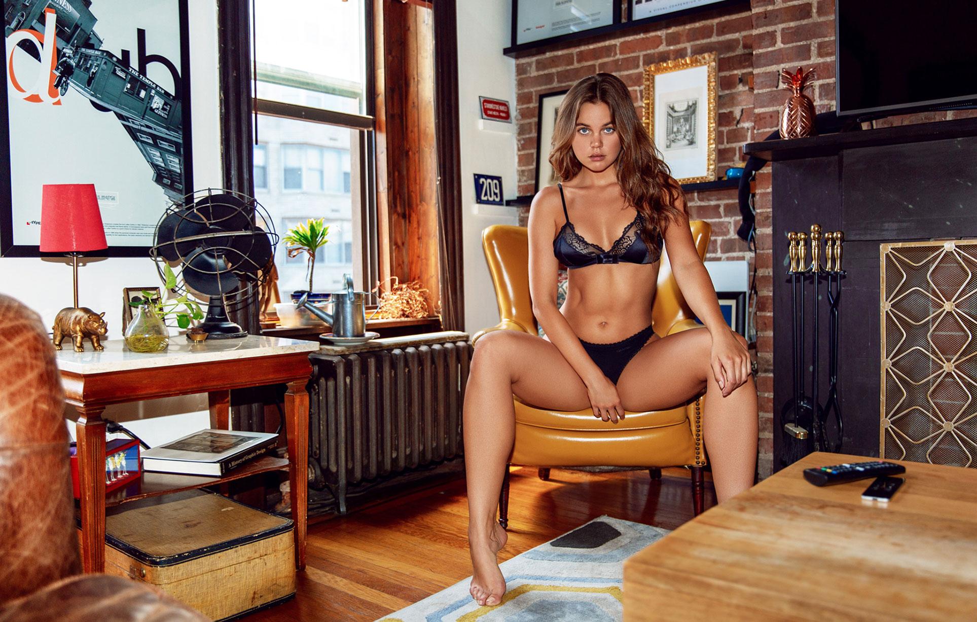 Лена Скай в нижнем белье в журнале Maxim Mexico / фото 13