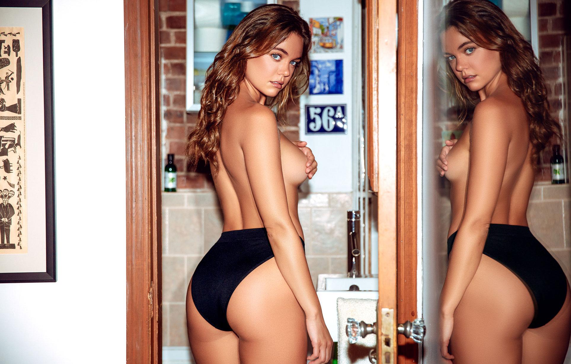 Лена Скай в нижнем белье в журнале Maxim Mexico / фото 17