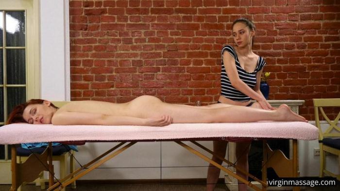 Elvira Nunah aka Elin Flame - Massage (FullHD 1080p) - Defloration/VirginMassage - [2021]