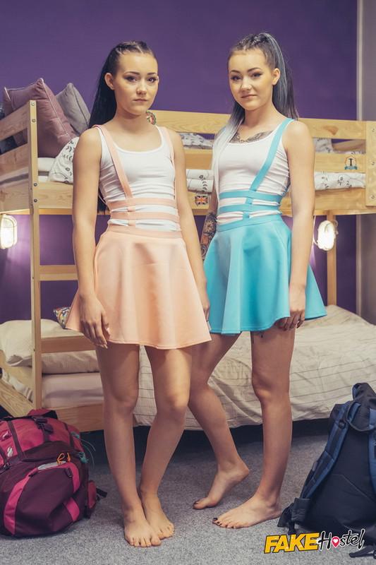 FakeHostel/FakeHub: Lady Zee, Sandra Zee - 18 Year Old Identical Sisters [FullHD|1080p|1.59 GB]