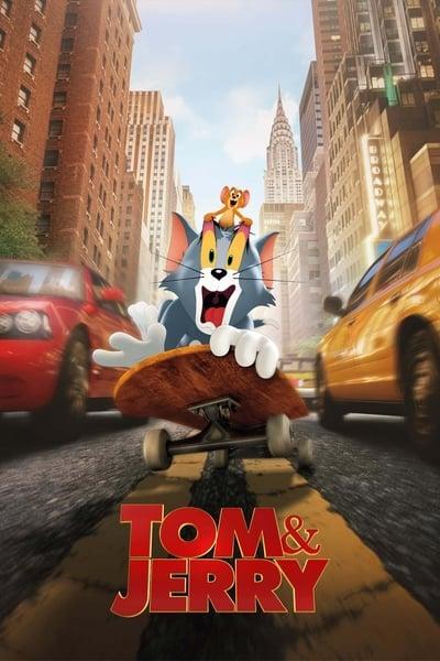 Tom and Jerry (2021) [Tam+Hin+Tel+Eng - 720p - WEB HDRip - x264 - AAC 2 1 - ESub -...