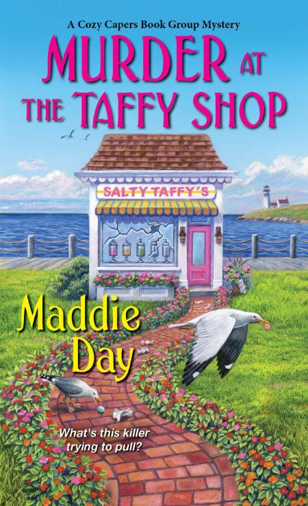Murder at the Taffy Shop by Maddie Day